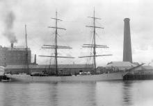 This image shows vessel in Port Adelaide in 1907