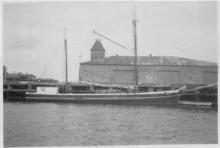 Berthed at Port Adelaide