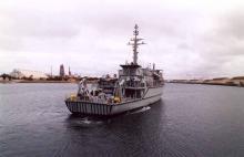 At Port Adelaide