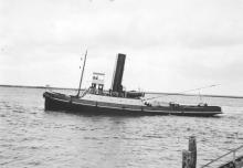 """Tug """"wato"""", a single screw steamship built in 1904 by J.T. Eltringham & Co - Sth. Shields.  Owned by the Adelaide Steam Tug Co Ltd and registered at Port Adelaide, she was broken up  Fremantle in late 1956 and the register closed in January 1957. Tonnage"""