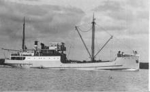 "Passenger Cargo vessel ""Kooraka"", built in 1925 by G Brown & Co Ltd - Greenock.  Owned by Coast Steamships Ltd.  Tonnage:  300 gross, 154 net Official Number:  137235 Dimensiosn:  length 135'3"", breadth 24'6"", draught 7'8"" Port Of Registry:  Adelaide"