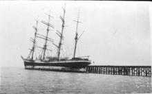 Admiral Karpfanger, ex-L'Avenir at Port Germein.