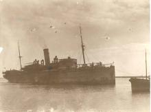 Built in 1913 by Alexander Stephen & Sons, Glasgow and first owned by Howard Smith Co, operated between Melbourne and Cairns.  In 1917 she was commandeered as a troop ship and returned to Howard Smith in 1919 where she operated as a cargo ship for two mon