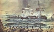 Wrecked at Port Willunga.