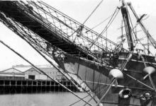 Showing Bowsprit. See image 10480