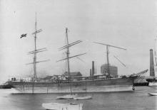 Ship, built 1881.