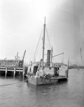 1877 paddle steamer.