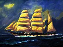 1874 barque.