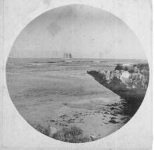 Barque at sea