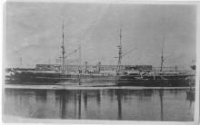 Passenger vessel berthed
