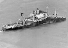 1966-67 General cargo vessel wrecked