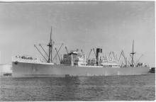 Refrigerated vessel entering port