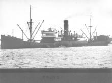 """General Cargo vessel """"Colac"""", ex 'Dinoga', built in 1920."""