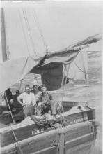 Ketch at Port Julia