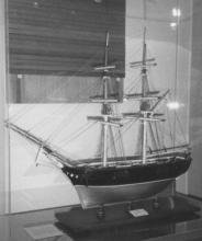 Model of brig.