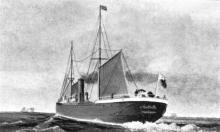 1881 general cargo vessel at sea