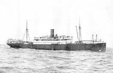 1912 passenger vessel.