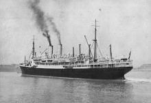 1914 passenger vessel.