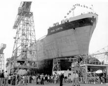 Bult in 1978 at Whyalla by Whyalla Shipbuilding and Engineering Works, and employed in bulk steel trades, owned by BHP.  Believed still in commission. Tonnage:  25850 gross, 16329 net Port Of Registry:  Melbourne Flag:  Australian Official Number:  37