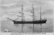 Image: Three masted wooden vessel